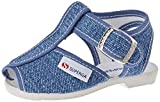 SUPERGA 1200-COTJ, Sandali con Cinturino a T Unisex-Bambini, Blu (Jeans C50), 23 EU
