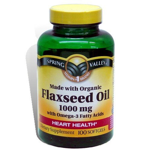Spring Valley Flaxseed Oil 1000 mg (old and new package are shipped in random)