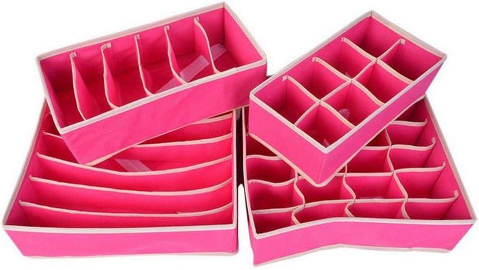 LA-BOOR Folding Underwear Scarf New product type Socks Organiser Closet Max 46% OFF Un Drawer