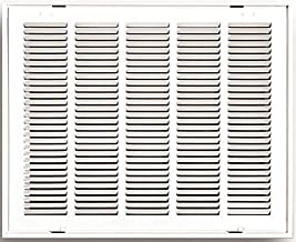 Truaire 190RF 25X20 Stamped Return Air Filter Grille, Removable Face, 25