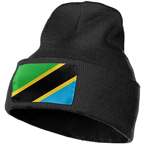 AEMAPE Gorro Unisex con Bandera de Tanzania, Gorro de Punto, Gorro de Calavera