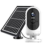 EKEN Outdoor Security Camera Wireless, Solar Powered Security Camera,...