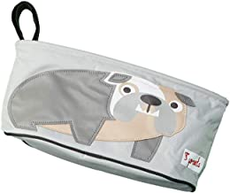 3 Sprouts Universal Stroller Organizer - Baby Jogger Caddy with Cup Holder, Bulldog
