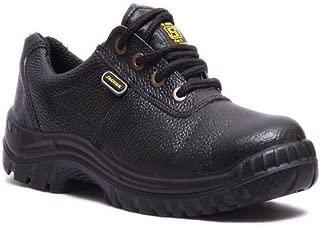 Hillson Jaguar ISI Marked Safety Shoe, Size-9 UK, Black
