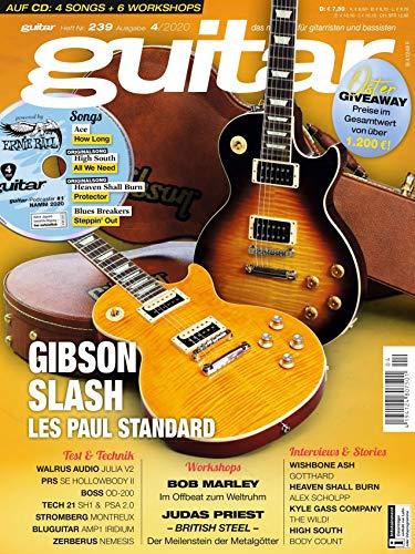 Gibson Slash Les Paul Standard und Gitarre Noten und Play alongs in der guitar