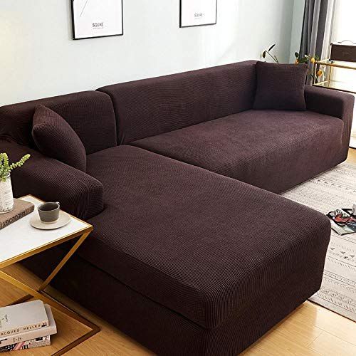 Allenger Sofa Throws,for Living Room Stretch Sectional Slipcovers L Shape Armchair Protector-12_Pillowcase