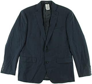 Bar III Midnight Blue Slim-Fit Jacket 40S