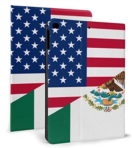 Función de Reposo / activación automática de Cuero de PU Mexicano Medio Americano para iPad Air 1/2 9.7 '
