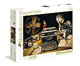 Clementoni-Los Pingüinos De Madagascar Puzzle 500p Collection Máquina Escribir (35040)