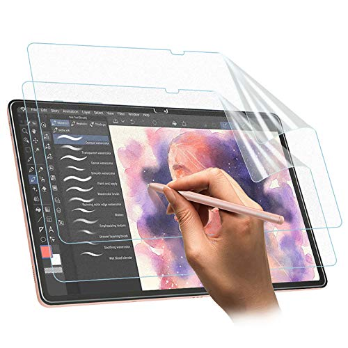 TiMOVO [2 PCS Pellicola Protettiva Compatibile con Samsung Galaxy Tab S7 Plus S7+ in Polietilene con Spessore da 0,33 mm, Protezione Schermo Anti-Graffi, Tablet Accessori - Smerigliato