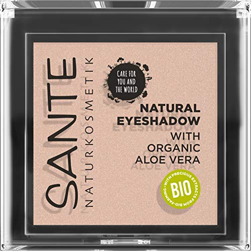 Sante Natuurcosmetica Natural Eyeshadow 01 Pearly Opal, 1,8 ml