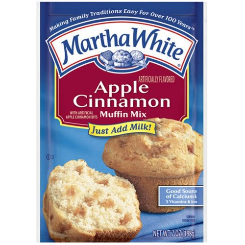 Martha White New product Apple Cinnamon Muffin Pack 12 of Mix Special sale item 7-Ounce