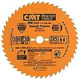 CMT 271.300.48M Lama Circolare Itk-Plus per Taglio Lungo e Traverso Vena, Arancio