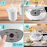 Zoom IMG-2 duronic ym2 yogurtiera elettrica automatica