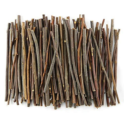 TKOnline 100Pcs 10cm 0.1-0.2 Inch in Diameter Wood Log Sticks for DIY Crafts Photo Props Craft Sticks,Wood Crafts,Sticks inch,Wood Sticks,Wood Craft Sticks,Photo Stick,Photo Props,Wood logs