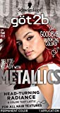 Got2b Metallic Permanent Hair Color, M76 Real Red