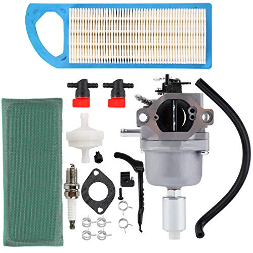 Hipa 794572 Carburetor with Air Filter Compatible with 791858 791888 792358 793224 697190 697141 698445 Lawn Mower Tune-up Kit