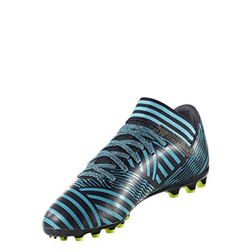 Adidas Nemeziz 17.3 AG J, Botas de fútbol Unisex Adulto, Azul (Tinley/Amasol/Azuene), 36 EU