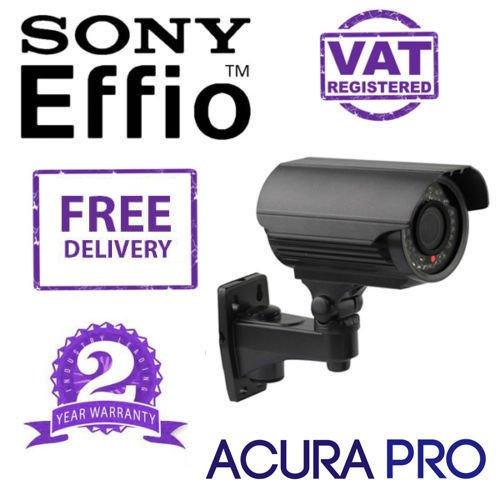 AcuraPRO Sony Effio-E potenziato 700TVL VARIFOCAL - Telecamera CCTV a infrarossi