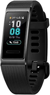 HUAWEI Band 3 Pro All-in-One Fitness Activity Tracker, 5ATM Water Resistance for Swim, 24/7 Heart Rate Monitor, Built-in G...