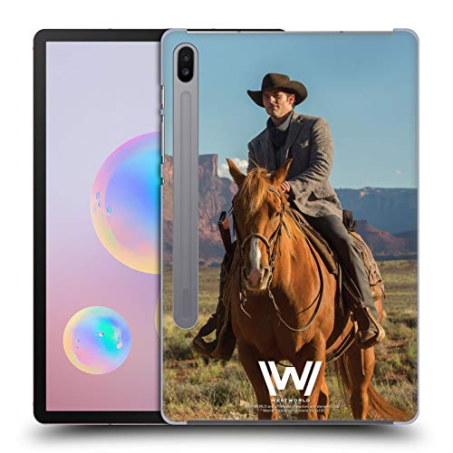 Head Case Designs Offizielle Westworld Teddy Flood Darsteller Harte Rueckseiten Huelle kompatibel mit Samsung Galaxy Tab S6 (2019)