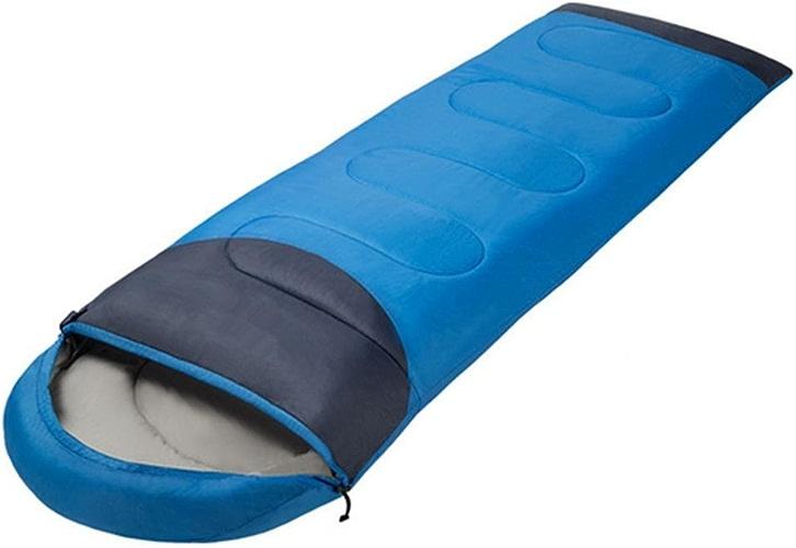 SHUIDAI Ultra-léger et résistant au vent en plein air chaud pause épaississement de sacs de couchage camp déjeuner , bleu