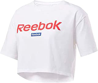 Reebok LINEAR LOGO CROP T-Shirt For Women, Size