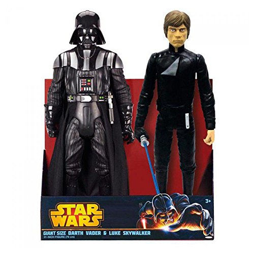 Jakks Pacific–Star Wars Darth Vader/Luke Pack 2Figuren, 39897955711