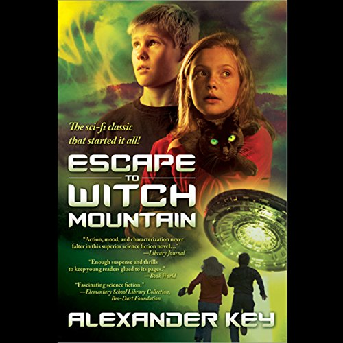 Escape to Witch Mountain audiobook cover art