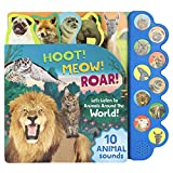 Best Books For Babies Animal Sounds - Hoot! Meow! Roar!: Let's Listen to Animals Around Review