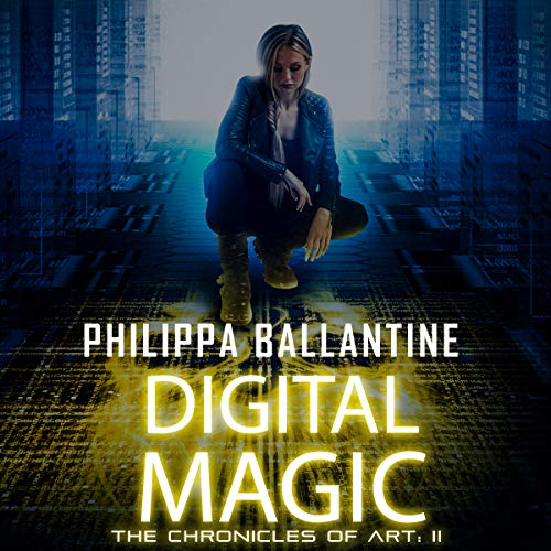 Digital Magic audiobook cover art