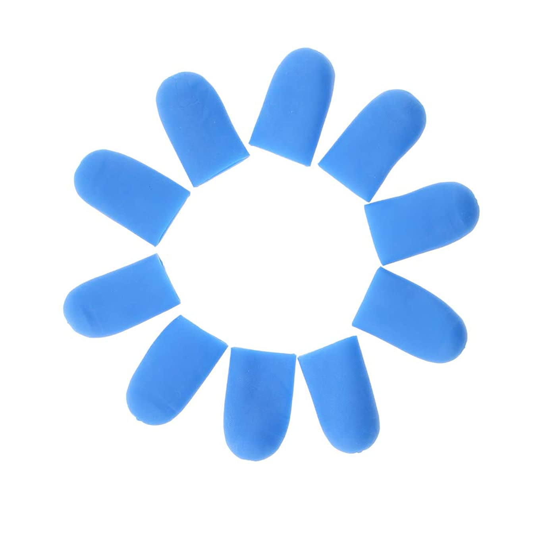 縁汚染乱雑な5ペア トゥキャップ シリコンゲル フットケア 足用保護パッド 2サイズ選べ - S