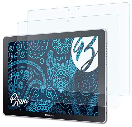 Bruni Schutzfolie kompatibel mit Samsung Galaxy Book 12 Folie, glasklare Bildschirmschutzfolie (2X)
