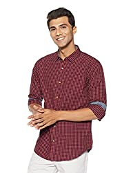 Ruggers by Unlimited Mens Checkered Regular Fit Casual Shirt