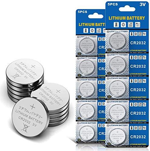 10 Stück CR2032 3V Batterien CR 2032 Knopfzelle
