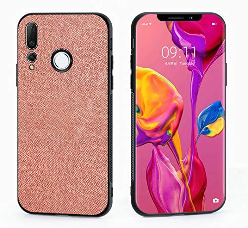 Kepuch Taiga Case Capas TPU PU-Couro para Huawei Nova 4 - Ouro