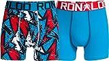 CR7 Cristiano Ronaldo Boys Boxeador Pantalones Cortos de niño 2-Pack (CR7-8400-5100-488-134/140)