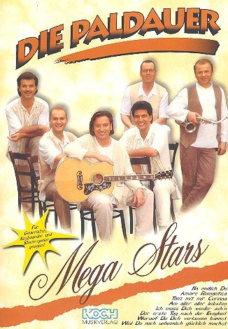 Die Paldauer : Mega Stars Notenalbum (Gesang, Gitarre, Keyboard, Klavier)