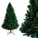 Albero di Natale Bianco Verde, Albero di Natale Artificiale in PVC Ignifugodi in Diverse Misure (verde, 2.1)