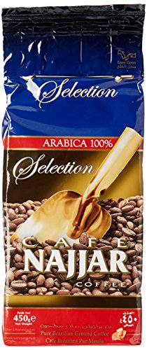 Cafe Najjar Arabica 100% Classic Ground Coffee 450g