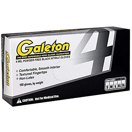 Guantes Negros  marca Galeton