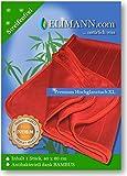 Elimann Premium XL Hochglanz Fenster Tuch mit Bambus Viskose für Glas/Spiegel/Scheiben/Besteck/Brillen/Autos/Bad/Möbel STREIFENFREIEN FUSSELFREIEN Glanz für alle glatten FLÄCHEN