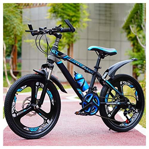 OFFA Bicicleta De Montaña para Mujer De 20'/ 22' / 24'Bicicletas para Niños 21 Velocidades, Suspensión Total, Freno De Disco, Amortiguador, Bicicletas Al Aire Libre para Niñas Y Niños