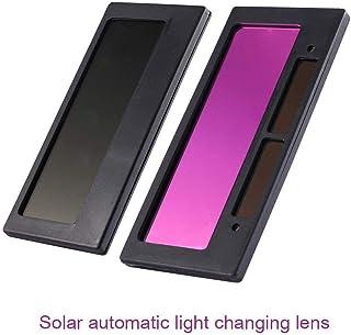 Fishyu 1 Unidades Casco de Soldadura Lente Solar Auto Oscurante Casco de Soldadura Máscara Lente Filtro Schatten Alta Calidad