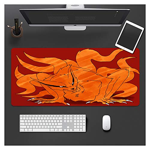 IMBMW Anime Mouse Pad 900X400X3MMXXL Large Mousepad Computer Keyboard Pad with Smooth Surface, Non-slip Rubber Base Desk Mat for Gaming, Macbook, PC, Laptop Junior Comics-2