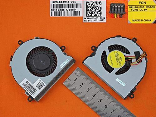 Kompatibel für HP TPN-C116, TPN-C125 Lüfter Kühler Fan Cooler Version 4-PIN