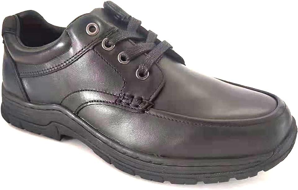 YUKE Men's Slip Resistant Work Shoes - 212945-Black