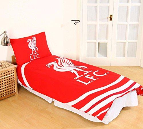 Children Liverpool F.C. Football Club Reversible Single Duvet Quilt Cover Set