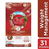 Purina ONE Weight Management, Natural Dry Dog Food, SmartBlend Healthy...