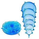 HelpCuisine® Coperchi in Silicone estensibili/Coperchi sottovuoto, Realizzati in Silicone...